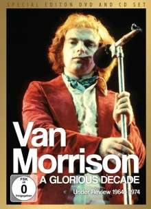 Van Morrison: A Glorious Decade: Under Review 1964 - 1974  (CD + DVD), 1 DVD und 1 CD
