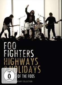 Foo Fighters: Highways & Holidays: 20 Years Of The Foos, 2 DVDs
