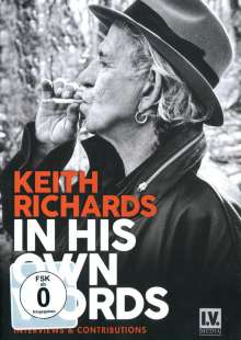 Keith Richards: In His Own Words, DVD