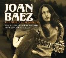 Joan Baez: The Debut Album Plus!, CD