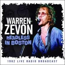 Warren Zevon: Headless In Boston: 1982 Live Radio Broadcast, CD