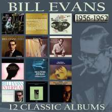 Bill Evans (Piano) (1929-1980): 12 Classic Albums: 1956 - 1962, 6 CDs