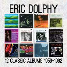 Eric Dolphy (1928-1964): 12 Classic Albums: 1959 - 1962, 6 CDs