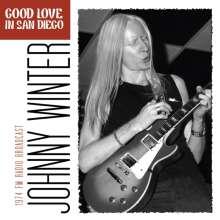 Johnny Winter: Good Love In San Diego, CD