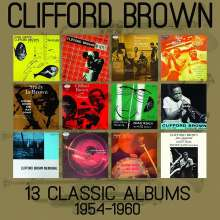 Clifford Brown (1930-1956): 13 Classic Albums 1954-1960, 6 CDs