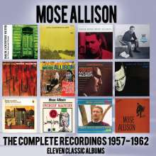 Mose Allison (1927-2016): The Complete Recordings: 1957 - 1962, 5 CDs