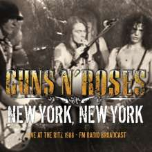 Guns N' Roses: New York, New York: Live At The Ritz 1988 - FM Radio Broadcast, CD