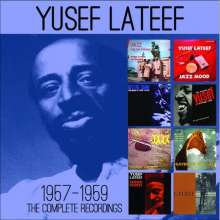 Yusef Lateef (1920-2013): The Complete Recordings 1957-1959, 4 CDs
