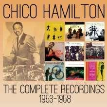 Chico Hamilton (1921-2013): The Complete Recordings 1953-1958, 5 CDs