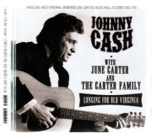 Johnny Cash: Longing For Old Virginia: Live 1976, CD