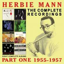 Herbie Mann (1930-2003): The Complete Recordings: Part One 1955 - 1957, 4 CDs