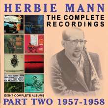 Herbie Mann (1930-2003): The Complete Recordings: Part Two 1957 - 1958, 4 CDs