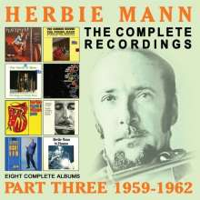 Herbie Mann (1930-2003): The Complete Recordings: Part Three 1959 - 1962, 4 CDs