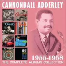Cannonball Adderley (1928-1975): The Complete Albums Collection: 1955 - 1958, 4 CDs