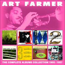 Art Farmer (1928-1999): The Complete Albums Collection: 1955 - 1957, 4 CDs