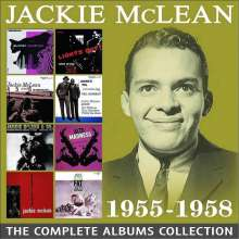 Jackie McLean (1931-2006): The Complete Albums Collection 1955 - 1958, 4 CDs