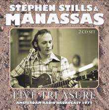 Stephen Stills: Live Treasure: Amsterdam Radio Broadcast 1972, 2 CDs