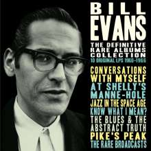 Bill Evans (Piano) (1929-1980): The Definitive Rare Albums Collection: 10 Original LPs, 4 CDs