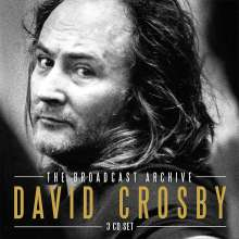 David Crosby: The Broadcast Archive 1989, 3 CDs