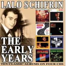 Lalo Schifrin (geb. 1932): Early Years, 4 CDs