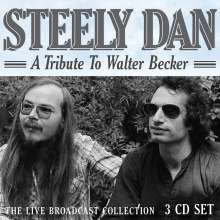 Steely Dan: A Tribute To Walter Becker: The Live Broadcast Collection, 3 CDs