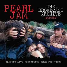Pearl Jam: The Broadcast Archive, 3 CDs