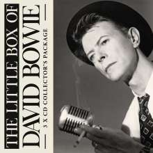 The Little Box Of David Bowie (Collector's Package), 3 CDs