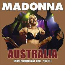 Madonna: Australia: Sidney Broadcast 1993, 2 CDs