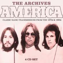 America: The Archives: Classic Radio Transmissions From The 1970s & 1990s, 4 CDs