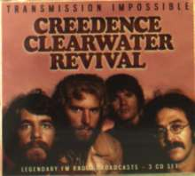 Creedence Clearwater Revival: Transmission Impossible: Legendary Radio Broadcasts, 3 CDs