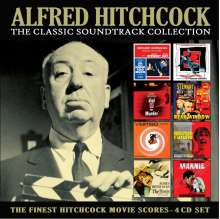 Filmmusik: Alfred Hitchcock: The Classic Soundtrack Collection, 4 CDs