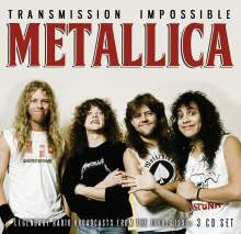 Metallica: Transmission Impossible: Legendary Broadcasts 1986 - 1994, 3 CDs