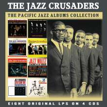 The Crusaders (auch: Jazz Crusaders): The Classic Pacific Jazz Albums, 4 CDs