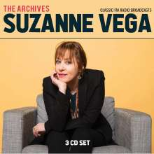 Suzanne Vega: The Archives: Classic FM Radio Broadcasts, 3 CDs