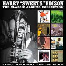 Harry 'Sweets' Edison (1915-1999): The Classic Album Collection, 4 CDs
