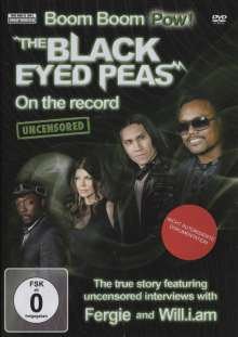 The Black Eyed Peas: Boom Boom Pow, DVD