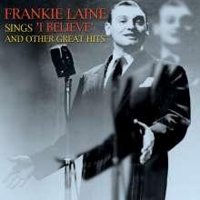 "Frankie Laine: Sings """"""""i Believe"""""""", CD"