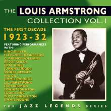 Louis Armstrong (1901-1971): The Louis Armstrong Collection Vol.1: The First Decade 1923 - 1932, 2 CDs