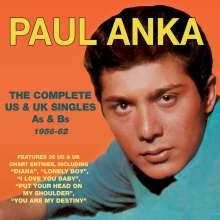 Paul Anka: The Complete US & UK Singles As & Bs 1956-62, 2 CDs