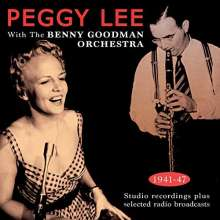Benny Goodman & Peggy Lee: Peggy Lee With The Benny Goodman Orchestra, 2 CDs