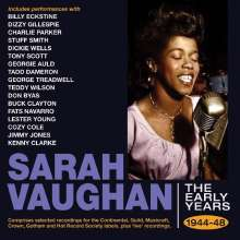 Sarah Vaughan (1924-1990): The Early Years 1944 - 1948, 2 CDs