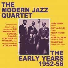 The Modern Jazz Quartet: The Early Years 1952 - 1956, 2 CDs