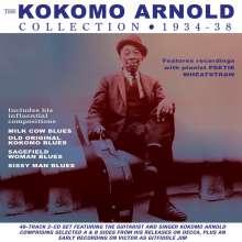 Kokomo Arnold: Kokomo Arnold Collection 1934-38, 2 CDs