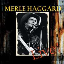 Merle Haggard: Live - At Church Street Station, CD