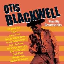 Otis Blackwell: Sings His Greatest Hits, CD