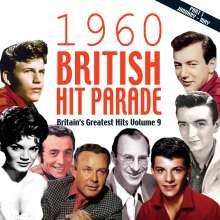 1960 British Hit Parade Part 1 (Vol. 9), 4 CDs