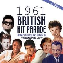 British Hit Parade 1961 Vol. 2, 4 CDs
