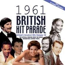 British Hit Parade 1961 Vol. 3, 4 CDs