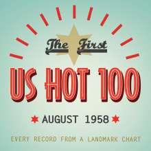The First US Hot 100: August 1958, 4 CDs