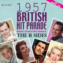 1957 British Hit Parade Part 1: January - July (The B-Sides), 4 CDs